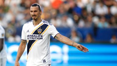 Zlatan scores pen as LA Galaxy win
