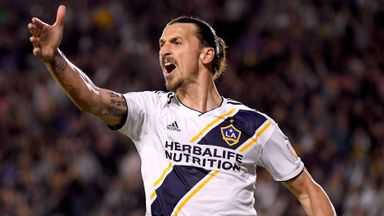 Zlatan stars in LA Galaxy win