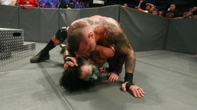 Orton savagely assaults Hardy