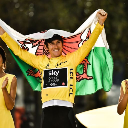 Geraint Thomas signs new Team Sky deal after Tour win