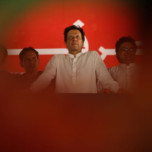 Imran Khan: The cricket legend set to lead Pakistan