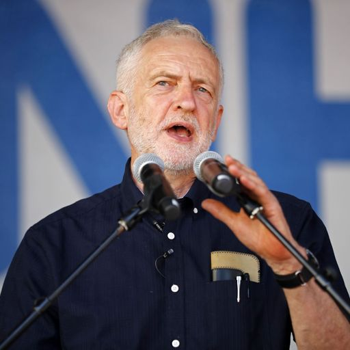 Labour leader Jeremy Corbyn vows to root out anti-Semitic 'poison' in his party