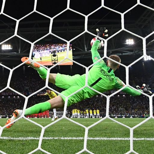Jordan Pickford's cheeky England penalty preparation revealed