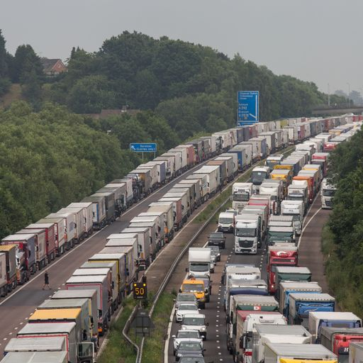 'No deal' Brexit plans lost on M20 motorway