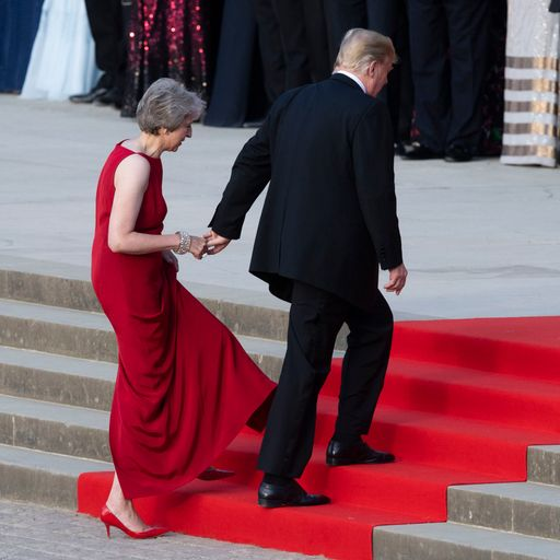 May 'foolish' to expect any return from Trump visit