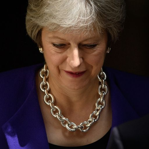 'Resilient' May protected by 'threat of Corbyn'