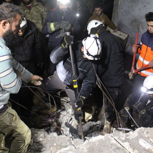 The conflicting narratives of the White Helmets