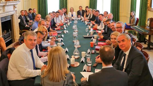 New cabinet meeting