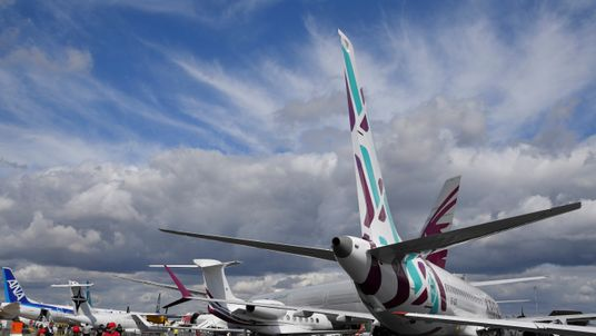 The Farnborough International Airshow is the biggest annual event for the aviation industry