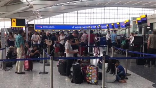 Passengers faced delays and cancellations at Heathrow Airport