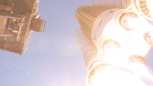 A NASA launch