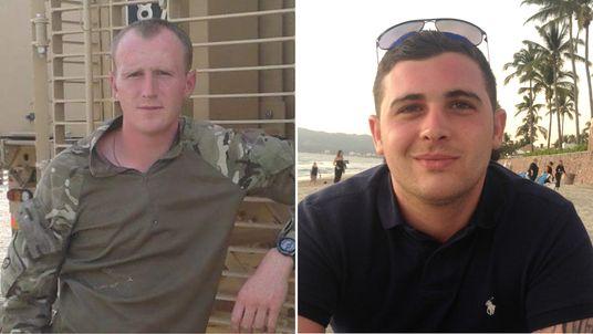 Corporals Darren Neilson and Matthew Hatfield, both of the Royal Tank Regiment, died in their Challenger 2 at the Castlemartin firing ranges on June 14 2017.
