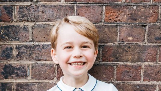 Prince George is five today