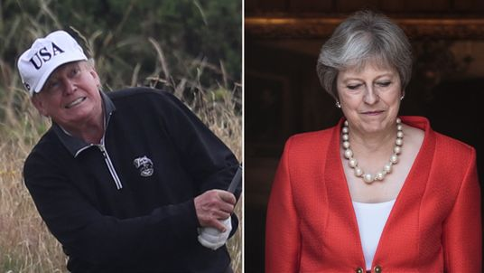 Theresa May revealed has revealed the bold advice the president had for Brexit negotiations