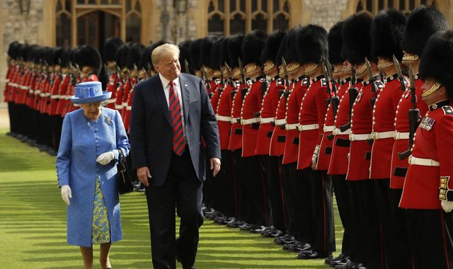 Donald Trump planning state visit to UK in June