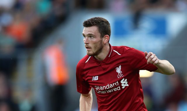 Jurgen Klopp is building Liverpool squad 'for the future' after tying Andy Robertson down to new deal