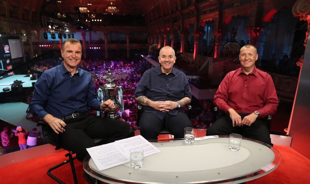 Dave Clark: Wayne Mardle pays tribute to retiring presenter of Sky Sports' darts coverage