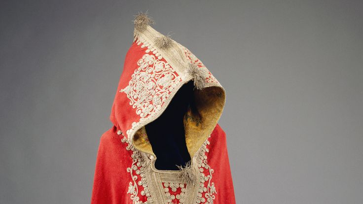 One of the highlights of the collection is Napoleon Bonaparte's red felt hooded cloak. Pic: Royal Collection Trust