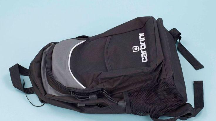 A rucksack Rahman intended to use. Pic: Duncan Gardham