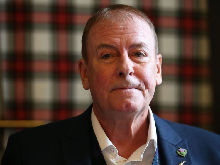 Alan Longmuir photographed in 2015