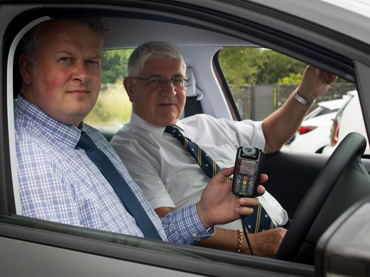 DI Andy Crowe and PCVC Ron Hodd. Pic: Durham Police