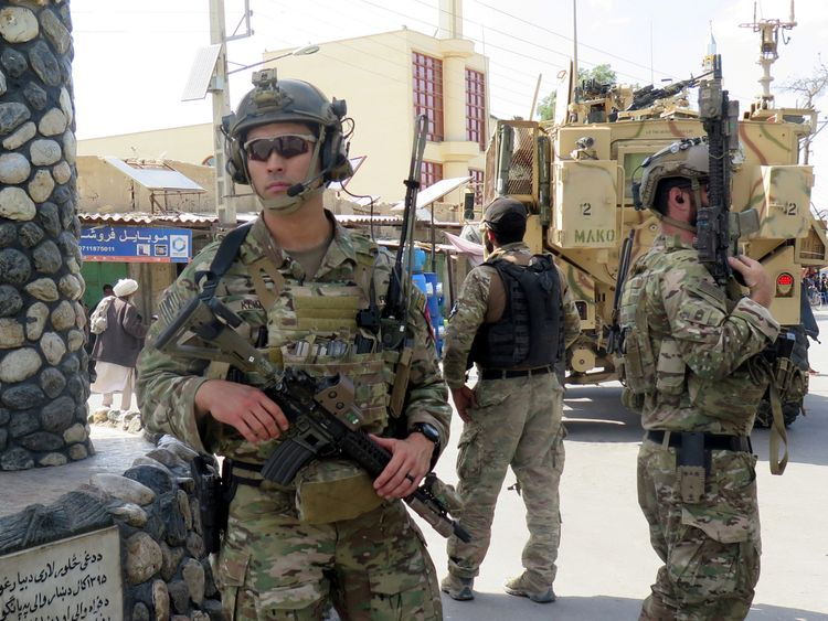 US troop have been in Afghanistan for 17 years