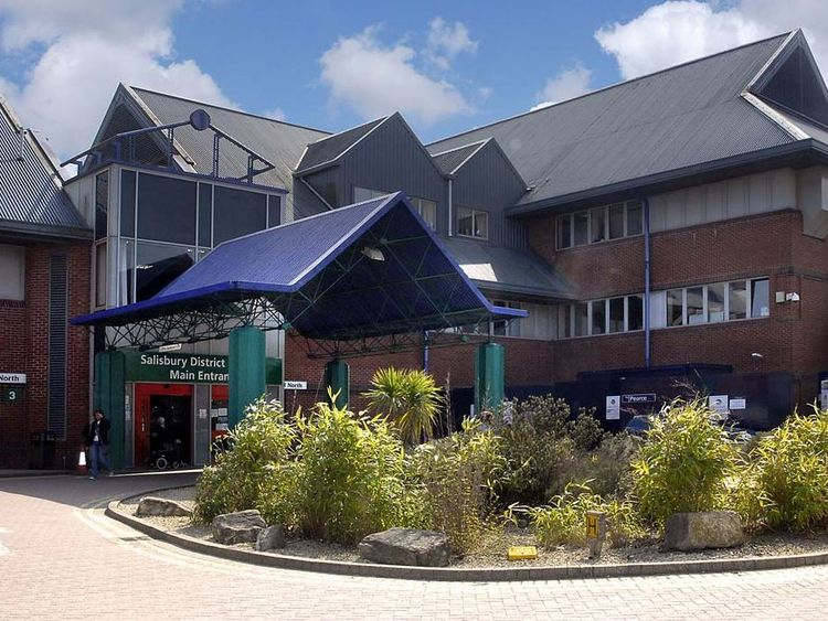 The unnamed couple from Amesbury are in a critical condition at Salisbury District Hospital