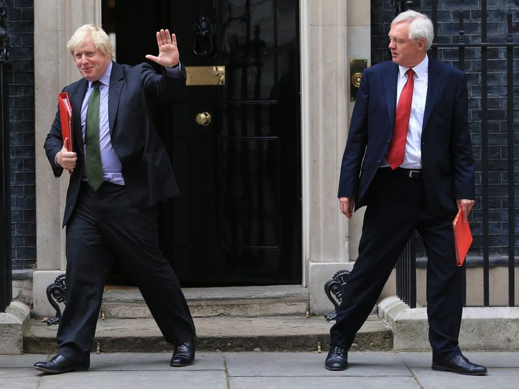 What does Boris think his resignation will achieve?