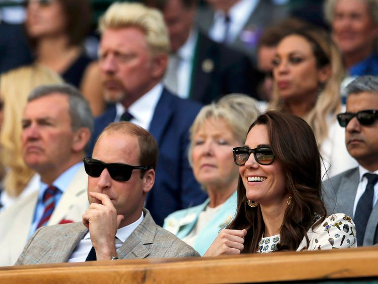 Duchesses make first joint appearance as Meghan cheers friend Serena at Wimbledon