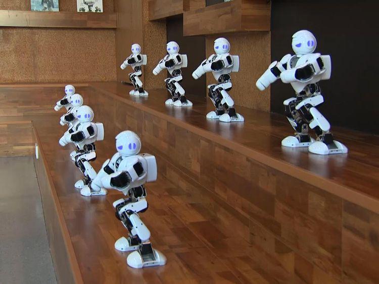 Robots in Shenzhen