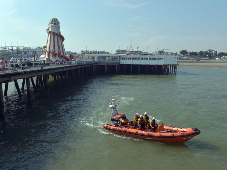 A search near Clacton Pier for a teenage boy has ended after a body was found