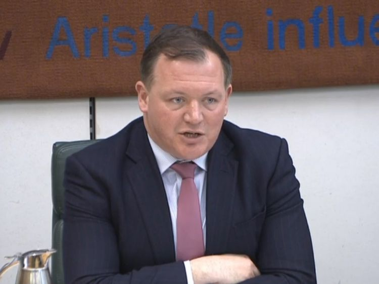 Damian Collins, chairman of the Commons Digital, Culture, Media and Sport Committee