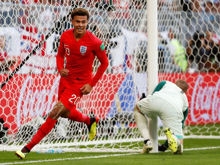 England beat Sweden 2-0 to reach World Cup semi-finals