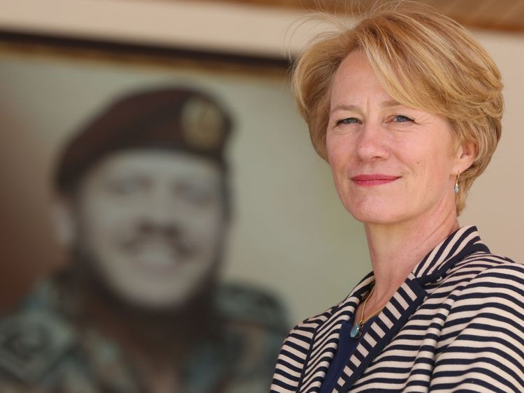 US diplomat Alice Wells