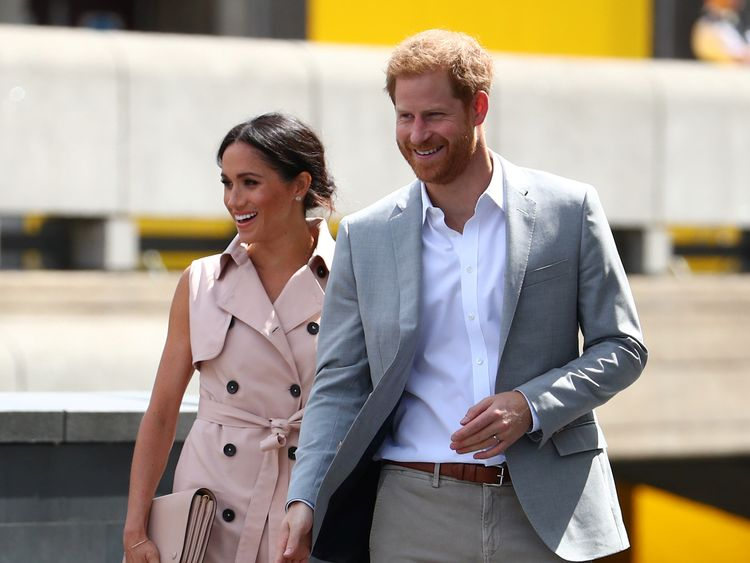 Royal couple attend friend's wedding on Meghan's 37th birthday