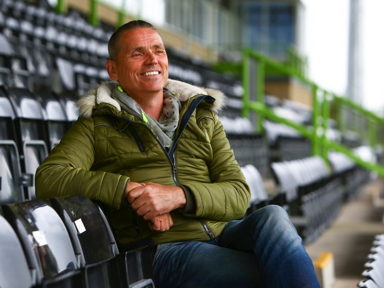Forest Green Rovers owner Dale Vince