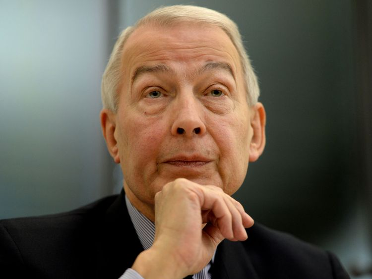 File photo dated 08/12/14 of Labour MP Frank Field