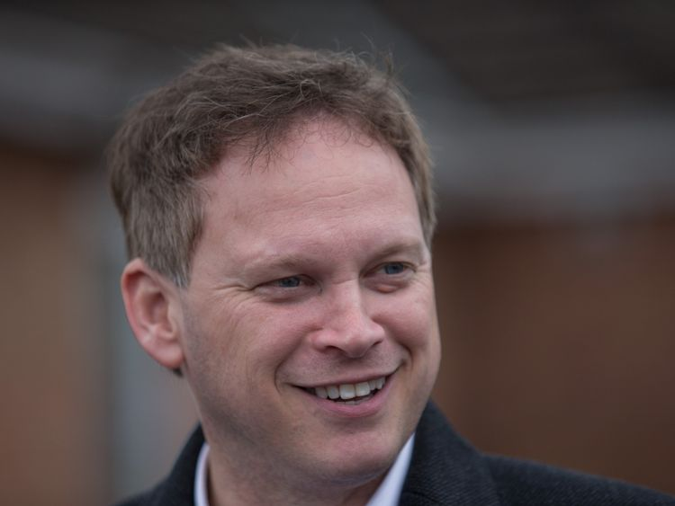 Grant Shapps, chairman of the British Infrastructure Group of Parliamentarians