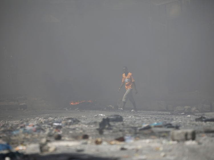 Haiti's PM Lafontant resigns amid protests