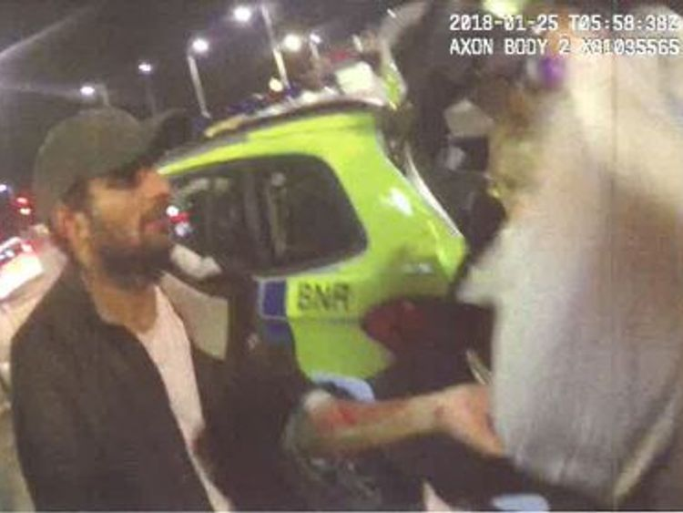 Muhammad pretended he had been robbed and called the police after the murder