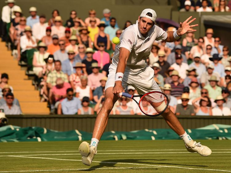 John Isner also played in the longest Wimbledon match ever in 2010