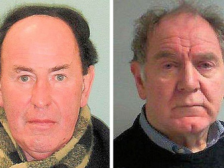 Gary Dobbie (L) and James Husband both abused pupils at Christ's Hospital School