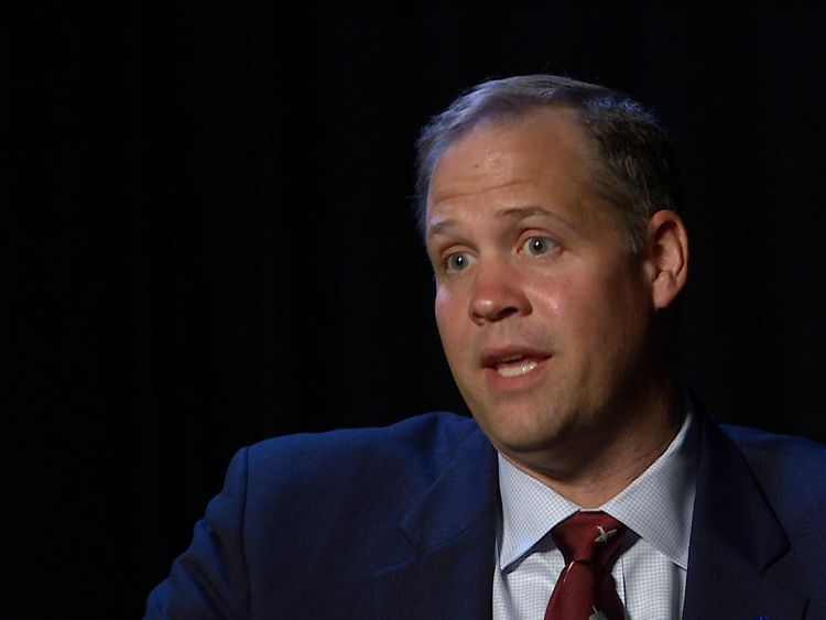 Jim Bridenstine said NASA was 'thrilled' at the idea of launching rockets in the UK