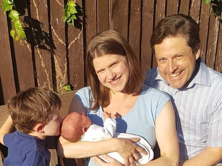 Jo Swinson MP and family