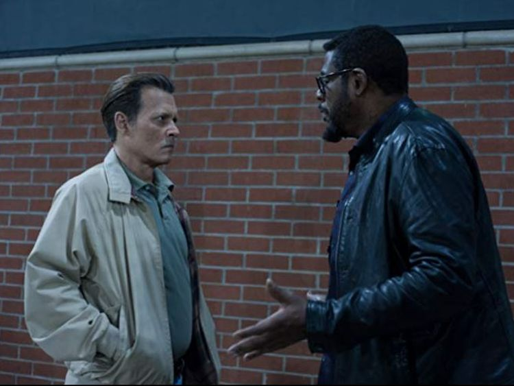 Depp plays a retired LAPD detective in City Of Lies