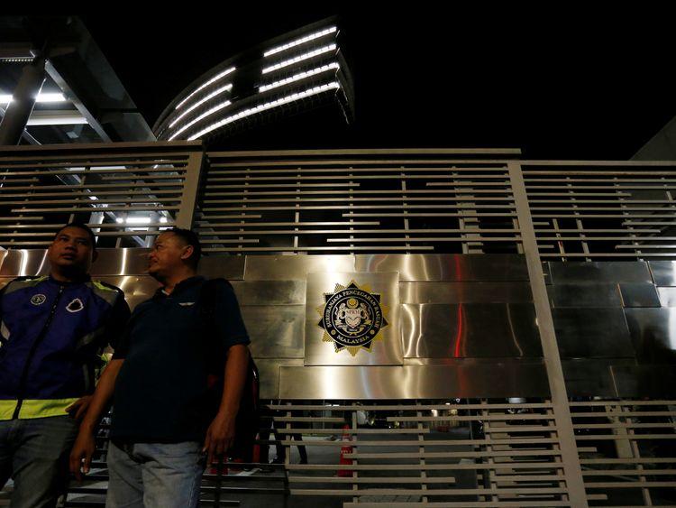The Malaysian Anti-Corruption Commission (MACC) headquarters