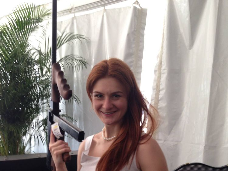 Maria Butina allegedly traded sex for a position within a special interest organisation. Pic: Facebook