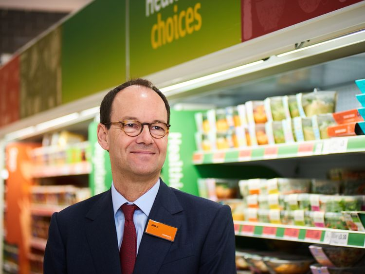 Mike Coupe is the chief executive of Sainsbury's