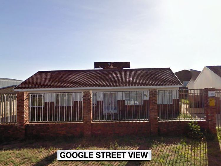 Carletonville mortuary in South Africa where the woman was found alive