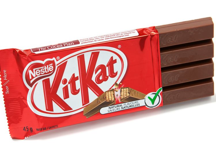 Nestle has been trying to trademark the Kit Kat shape